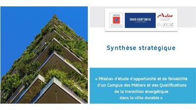 bâtiment végétalisé et couverture synthèse stratégique