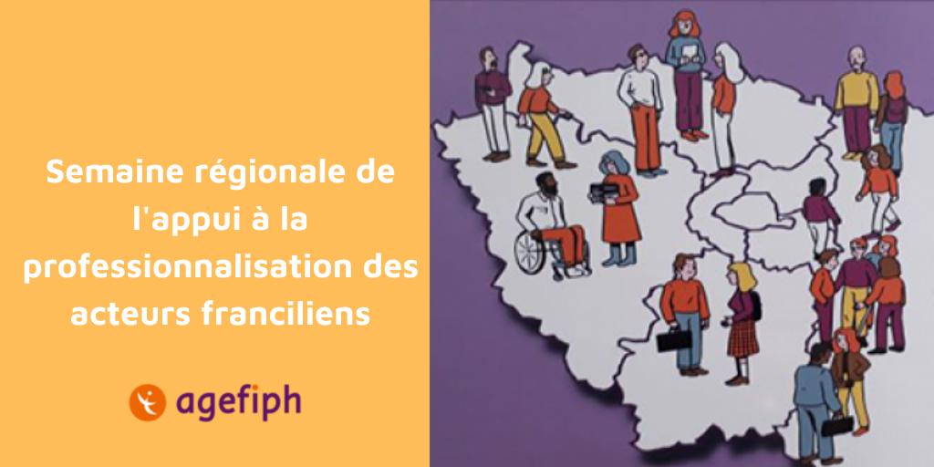 Semaine régionale de l'appui à la professionnalisation des acteurs franciliens