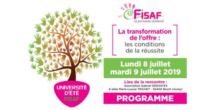 Université d'été de la FISAF