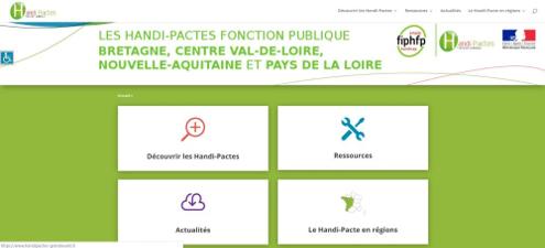 Lancement du site www.handipactes-grandouest.fr