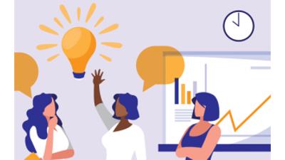 Illustration de sessions de professionnalisations - visuel créé l'Agefiph