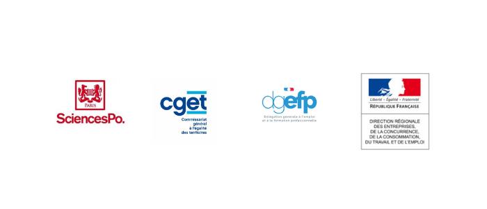 logo sciences po paris, cget, dgefp, direccte